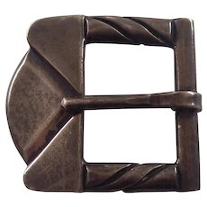 Hector Aguilar Taxco Mexican Sterling Belt Buckle Mexico
