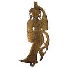 Asian/Chinese Dancer Alva Museum Replicas Brooch Chou Dynasty