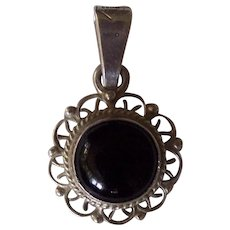 Mexican Sterling Silver Pendant Mexico