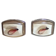 Fly Fishing Lures Cufflinks