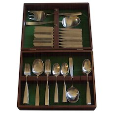Lauffer Bedford Holland 50 pc Set in Box Stainless Don Wallance