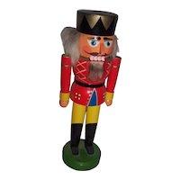 VEB Hodrewa Rothenthal Nutcracker King GDR E Germany Christmas Holiday