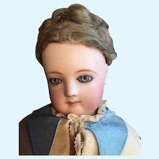 Gorgeous Antique Jumeau French Fashion Doll with Special Body