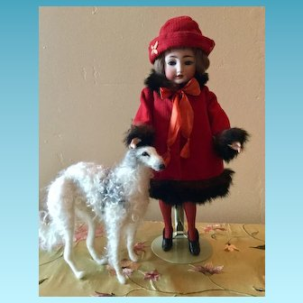 Gorgeous All Original Antique Simon and Halbig Flapper Doll.  ON LAYAWAY for B.