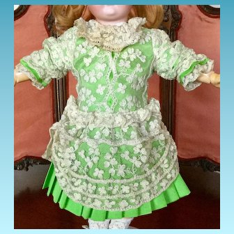 Beautiful Vintage Lace Doll Dress