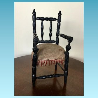 Antique French Doll Chair