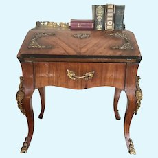 Amazing Rare Antique French Doll Desk