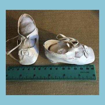 Antique Large Doll Shoes