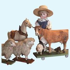 Antique Kestner Doll—Little Farmer Boy