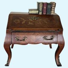 Amazing Rare Antique French Doll Desk