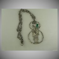Vintage Kenneth J Lane Asian Inspired Necklace