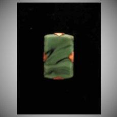 Victorian Malachite Pin