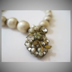 DeMario Faux Baroque Pearl Necklace