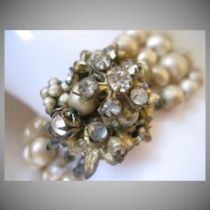 Fabulous Vintage DeMario Multi-Strand Bracelet