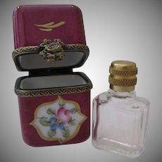 Limoge Perfume Box Vintage