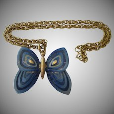 Eisenberg Butterfly Necklace
