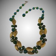 Rare Schiaparelli Two Tone Necklace