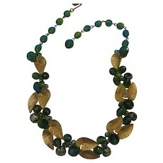 Rare Schiaparelli Two Tone Necklace