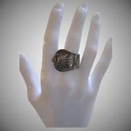 Vintage Sterling Silver Spoon Ring