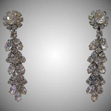 Glamorous Weiss Drop Earrings