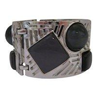 Vintage Thermoset Mod Bracelet
