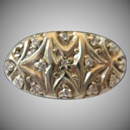 14kt Gold Diamond Art Deco Ring