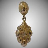 Vintage 18kt Dangle Earrings