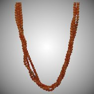 14kt Angel Skin Coral Bead Necklace
