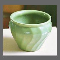 "Bauer California art pottery ""Swirl"" Jardiniere C.1930's"