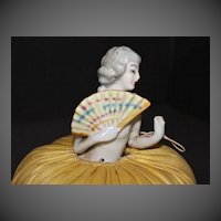 Pincushion Doll, 1920's Japanese Fan Lady