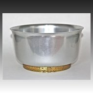 "Lurelle Guild Art Deco ""Coldchester Ice Bowl""  Kensington Aluminum"