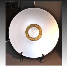 "Lurelle Guild ""Compass Platter"" for Kensington Aluminum C.1935-1936"