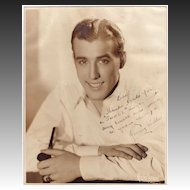 Jonny Wells 1940's Entertainer Autographed Photo
