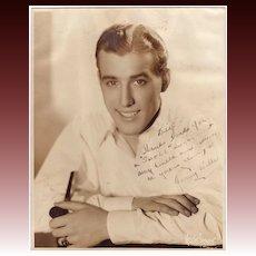 Jonny Wells 1940's Entertainer Autographed Photo