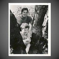 Tarzan and Boy  1940's