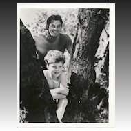 Tarzan and Boy  1940's