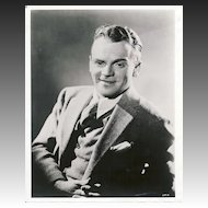 James Cagney 1940's Cinema Lobby Portrait