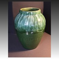 Robinson Ransbottom Arts & Crafts Olive Jar C. 1920's