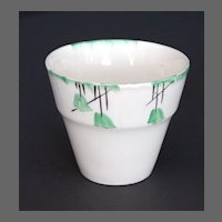 Myott Art Deco Flower Pot