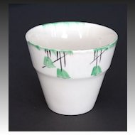 Myott Art Deco Flower Pot