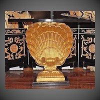 Grosfeld House Shell Console Table C. 1940-1950