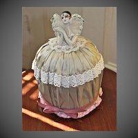 Dressel Kister & Co. Pierette Half Doll Circa 1915