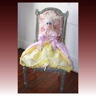 An 18th century lady Anita type Boudoir doll, circa 1920's