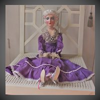 1920's Anita type Boudoir doll  with original clothes