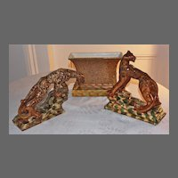 Royal Haeger, Designer Royal Hickman's Tiger Console Set