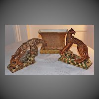 Royal Haeger, Designer Royal Hickman's Tiger Console Set