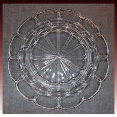 Fostoria Glass Argus Pattern Dessert/Salad Plates