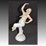 Schaubach-Kunst Porcelain Dancing Harem Girl