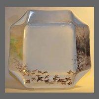 "Haviland and Co. Limoges ""Folded Napkin"" Cabinet Plate"