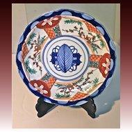 Mid-19th Century Japanese Imari Dish